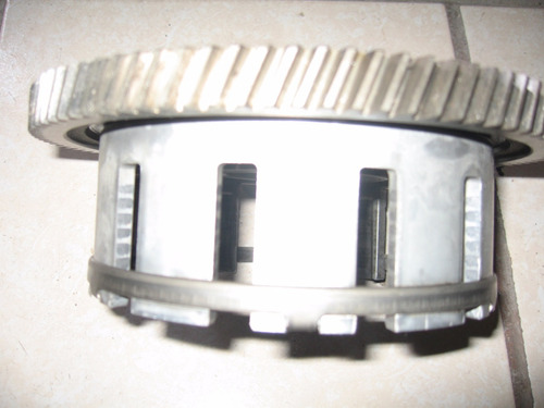 1981 susuki gs 750l campana del clutch original  y buena