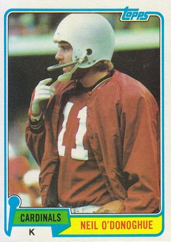 1981 topps neil o'donoghue k cardinals