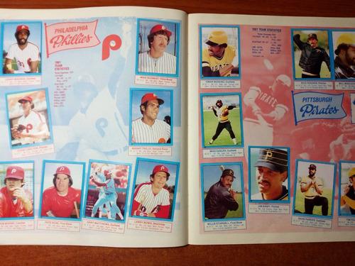 1982 album de  baisbol topps completo excelente condición