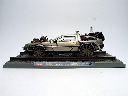1982 delorean back to the future iii diecast modelo de...