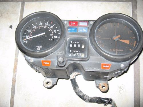 1983 yamaha maxim xj650 velocimetro y tachometro  original