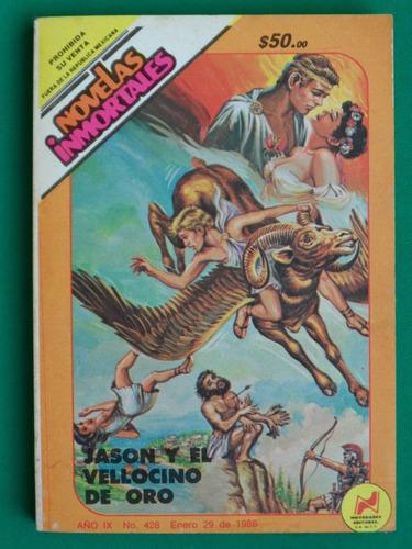 1986 novelas inmortales #428 jason y el vellocino de oro