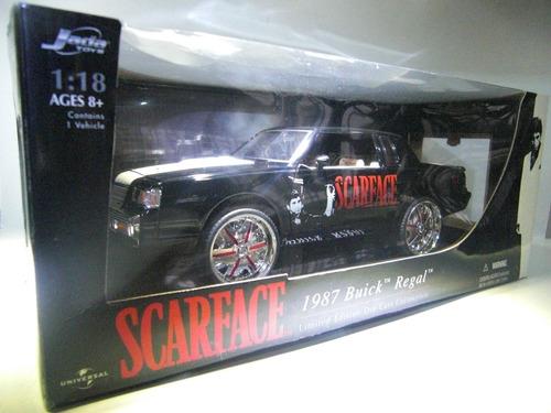 1987 buick regal scarface marca jada  escala 1/18