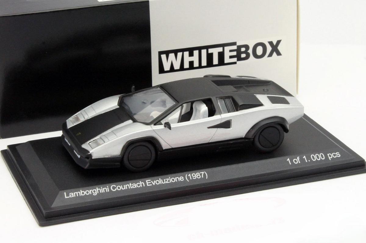 1987 Lamborghini Countach Evoluzione Escala 1 43 Whitebox 575 00