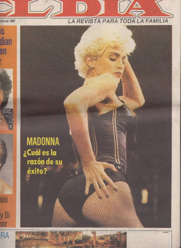 1987 madonna only cover magazine uruguay nota fotos xrare