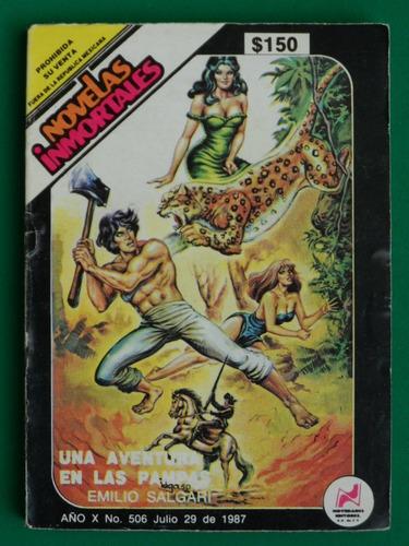 1987 novelas inmortales #506 una aventura en las pampas