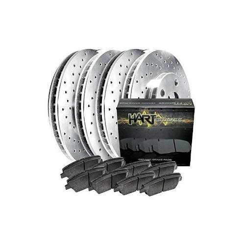 1990-1992 300te kit completo platino hart rotores de freno p