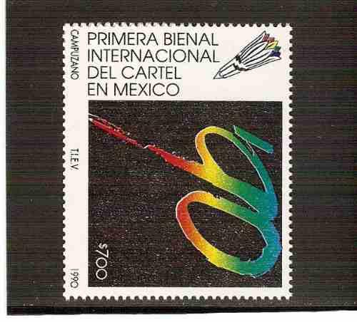 1990 primera bienal internacional del cartel en méxico mhn.