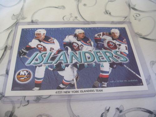 1990's promo mini poster new york islanders team