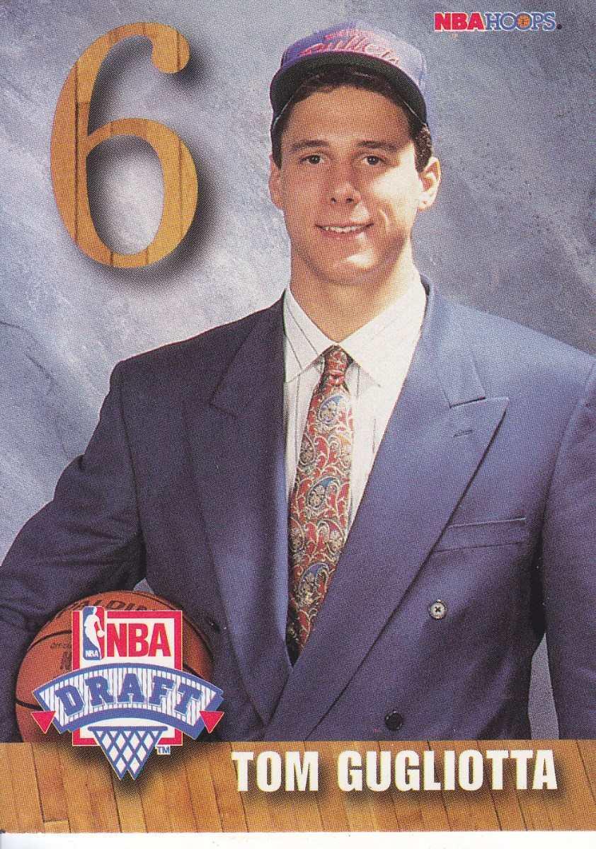 1992 93 Hoops Draft Tom Gugliotta Bullets $ 80 00 en Mercado Libre