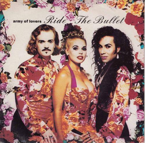 1992 army of lovers simple vinilo importado p/s ride bullet
