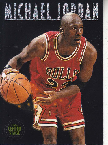 1993-94 skybox premium center stage michael jordan bulls