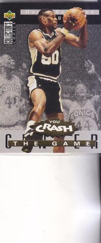 1994-95 choice crash game gold rebounds david robinson spurs