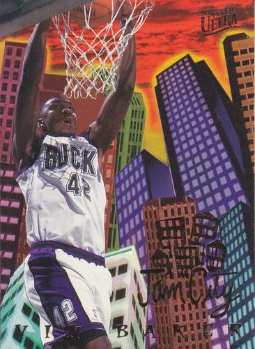 1994-95 fleer ultra jam city vin baker bucks