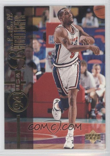 1994-95 upper deck #173 - steve smith usa
