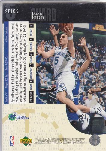 1994-95 upper deck special jason kidd rookie mavs