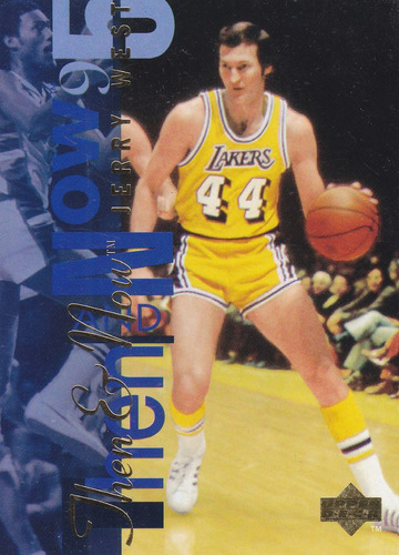 1994-95 upper deck tn jerry west lakers