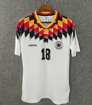 96e459edf 1994 Camisa Alemanha Klinsmann   18 - R  154