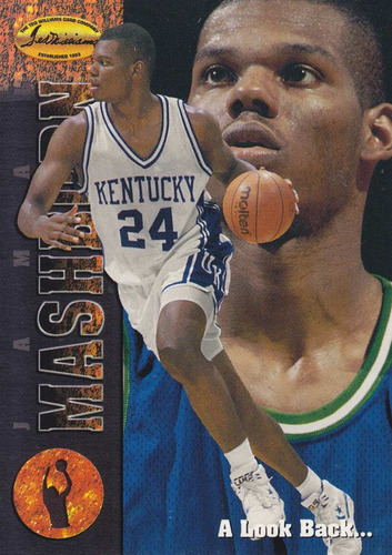 1994 classic tw rookie jamal mashburn mavericks