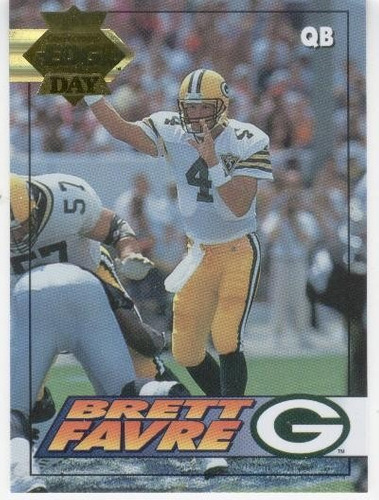 1994 collector's edge gold 1st day brett favre packers qb