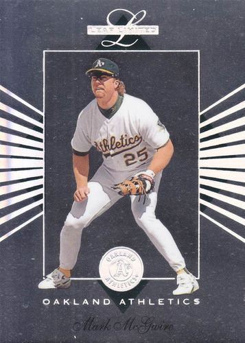 1994 leaf limited mark mcgwire 1b athletics