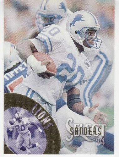 1994 select barry sanders detroit lions