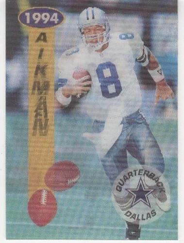 1994 sportflics troy aikman dallas cowboys