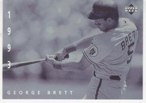 1994 upper deck the american epic george brett 1993