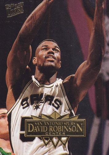 1995-96 fleer ultra david robinson spurs