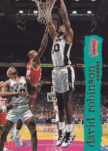 1995-96 hoops david robinson spurs