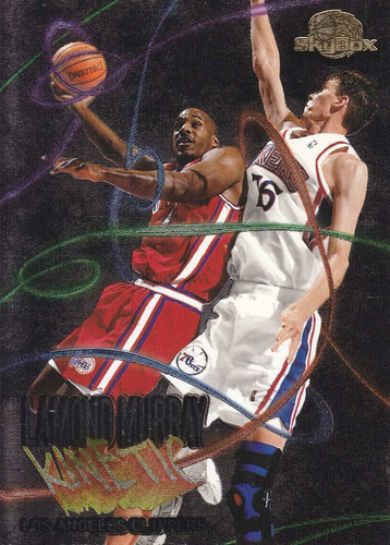 1995-96 skybox premium kinetic lamond murray clippers