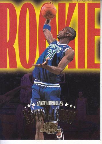 1995-96 skybox premium rookie kevin garnett twolves