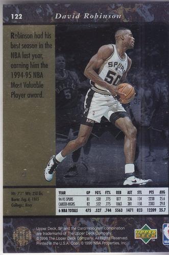 1995-96 sp david robinson spurs