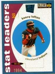 1995 collector's choice se #139 kenny lofton stl indios