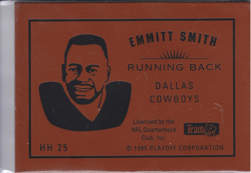 1995 playoff contenders hog heaven emmitt smith rb cowboys