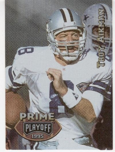 1995 playoff prime troy aikman dallas cowboys