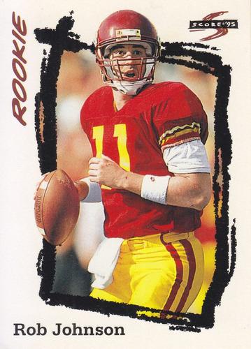 1995 score rookie rob johnson qb jaguars