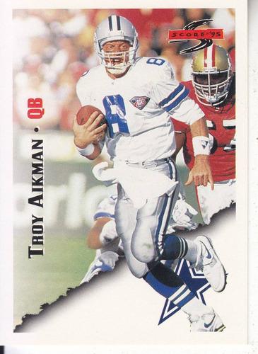 1995 score troy aikman qb cowboys