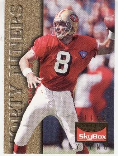 1995 skybox premium steve young san francisco 49ers