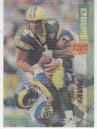 1995 sportflix brett favre green bay packers