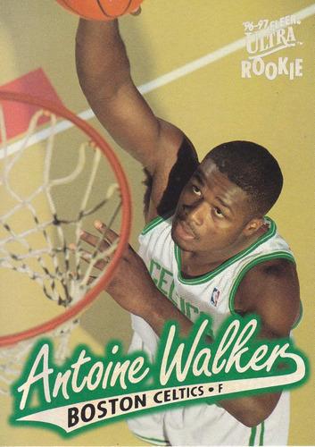 1996-97 fleer ultra rookie antoine walker celtics