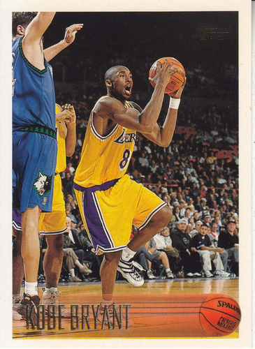 1996-97 topps rookie kobe bryant lakers