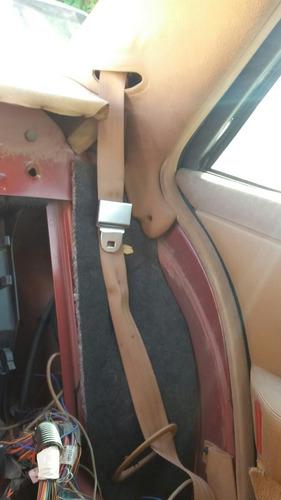 1996 cadillac seville cinturon macho trasero copiloto
