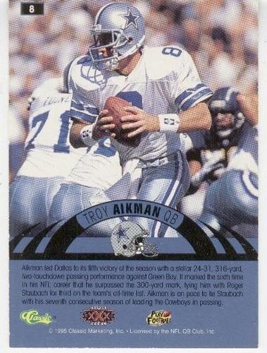 1996 experience troy aikman dallas cowboys