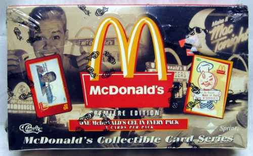 1996 mcdonalds classic premier trading cards