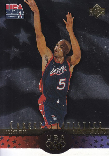 1996 sp usa career statistics grant hill pistons