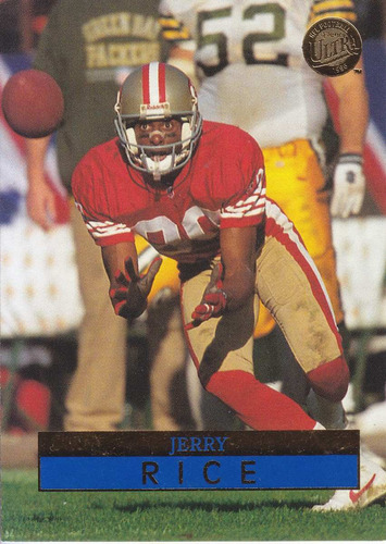 1996 ultra jerry rice wr 49ers
