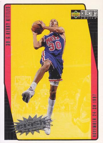 1997-98 choice crash game scoring kerry kittles nets