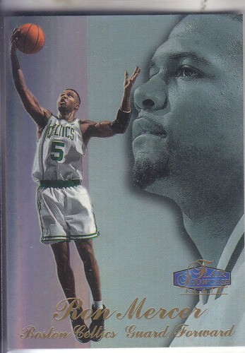 1997-98 flair showcase row 3 rookie ron mercer celtics