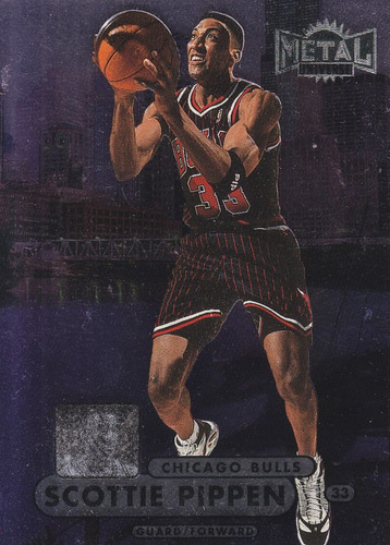 1997-98 metal universe championship scottie pippen bulls